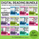 Digital Reading Bundle Nonfiction for Google Slides™ Dista