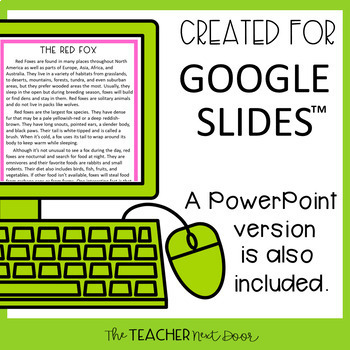 5th Grade Digital Reading Nonfiction: Cause and Effect   Google Slides™