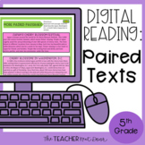 5th Grade Digital Reading Nonfiction: Paired Passages | Go