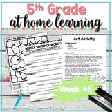5th Grade Distance Learning Packet: At Home Learning Activ