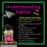 5th Grade Diving Deeper into Fiction:  Understanding Fables