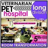 5th Grade Division Word Problems | Vet Classroom Transformation