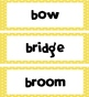 5th Grade Dolch Words - Yellow