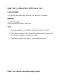 5th Grade EL - Module 2 - ALL Block Student Task Cards