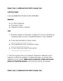 5th Grade EL - Module 3 - ALL Block Task Cards