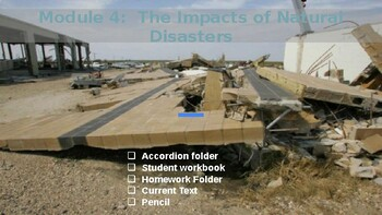 5th Grade EL - Module 4 Unit 1 - Impacts of Natural Disasters
