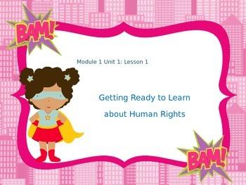 5th Grade ELA Engage NY Module 1 Unit 1 Lessons 1-11 Human Rights