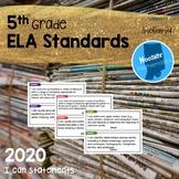 5th Grade ELA I Can Statements (Indiana)