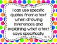 5th Grade ELA I Can Statements for CCSS Standards (Rainbow Dots)