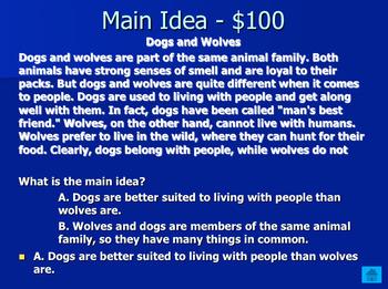 5th Grade ELA Jeopardy Review