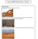 5th Grade ELA, Math, SC, SS, Language Arts CRCT Study Guide w/ free math wbk
