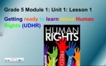 5th Grade ELA Module 1 Unit 1 Lesson 1