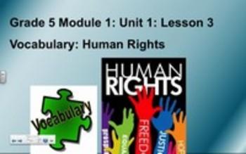 5th Grade ELA Module 1 Unit 1 Lesson 3