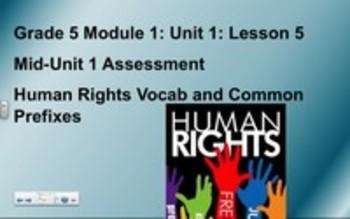 5th Grade ELA Module 1, Unit 1, Lesson 5