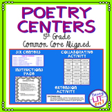 5th Grade ELA Poetry Centers