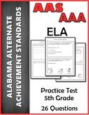 5th Grade ELA Practice Test