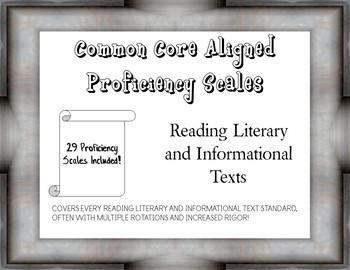 5th Grade ELA Reading Proficiency Scales (Marzano) - 29 Scales Included!