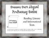 5th Grade ELA Reading Proficiency Scales (Marzano) - 29 Sc