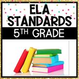 5th Grade ELA Standards