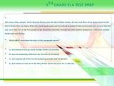 5th Grade ELA Test Prep