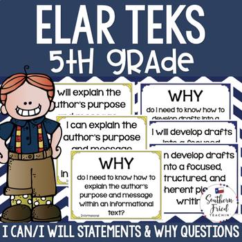 5th Grade ELAR TEKS