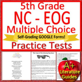 5th Grade EOG Test Prep NC READY ELA Reading Practice Tests Bundle