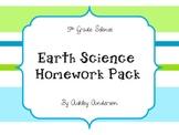 5th Grade Earth Science Homework