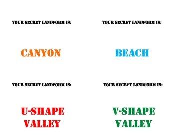 5th Grade Earth Science Review - Mission: Secret Landform!