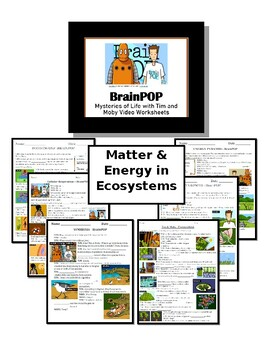 5th Grade - Matter in Ecosystems - for BrainPOP video