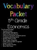 5th Grade Economics Vocabulary Packet