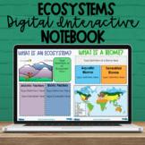 5th Grade Ecosystem Digital Interactive Notebook - NC Scie