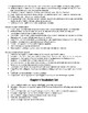 5th Grade Ecosystems/Landforms Unit Vocab Packet (Scott Foresman Ch 5, 6, 9)