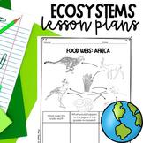 5th Grade Ecosystems Unit Lesson Plans - NC Essential Scie