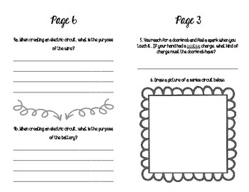 5th Grade Electricity Booklet