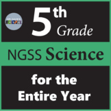 5th Grade Science Curriculum NGSS Curriculum for Entire Year