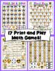 5th Grade Emoji Math Games and Centers