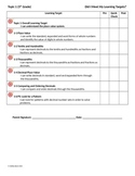 5th Grade EnVision Topics 1-16 Self Assessment Sheet *BUNDLE*!