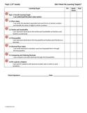 5th Grade EnVision Topics 1-16 Self Assessment Sheet *BUNDLE*!