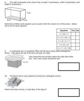 5th Grade End of Module 5 Assessment - Editable