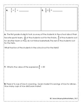 5th G End of Year Math Assessment