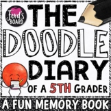 5th Grade End of Year Memory Book | The Doodle Diary of a