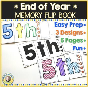 End of Year Memory Flip Book - 5th Grade