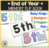 End of Year Memory Flip Book Activity 5th Grade
