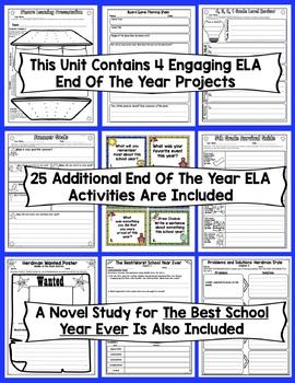 5th Grade End of the Year ELA and Math: 5 Week ELA and Math Review (5th Grade)