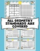 5th Grade End of the Year Math Digital Task Cards: 5th Grade (Geometry)