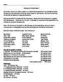 5th Grade Endangered Animal Report