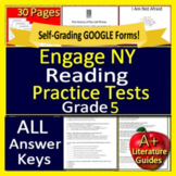 5th Grade Engage NY ELA Test Prep Practice for New York State