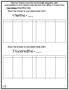 5th Grade Engage NY & Eureka Math Module 3: ALL LESSONS 1-16 LESSON NOTES
