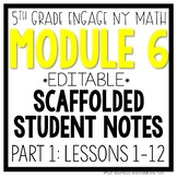 5th Grade Engage NY & Eureka Math Module 6 PART 1 LESSONS 1 12 LESSON NOTES