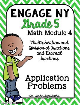 5th Grade Engage NY Math Application Problem Workbook Bundle